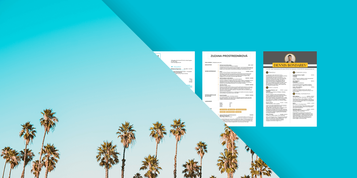 These 7 Student Resume Samples Can Help You Get a Better Summer Job